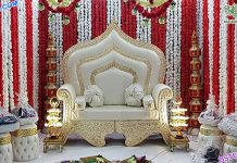 Royal Wedding Stage Maharaja Sofa London