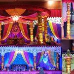 Special Wedding Fiber Devdas Mandap Sweden