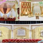 Stunning Look Wedding Fiber Mandap & Stage