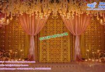 Stunning Wedding Stage Candle Back-Walls Atlanta