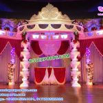 Stylish Fiber Crystal Fountain Wedding Mandap