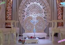 Stylish Wedding Paisley Style Mandap Chairs