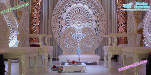Stylish Wedding Paisley Style Mandap Chairs