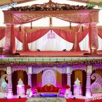 South Asian Wedding Crown Mandap Germany
