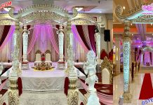 Traditional Srilankan Wedding Dhanush Mandap