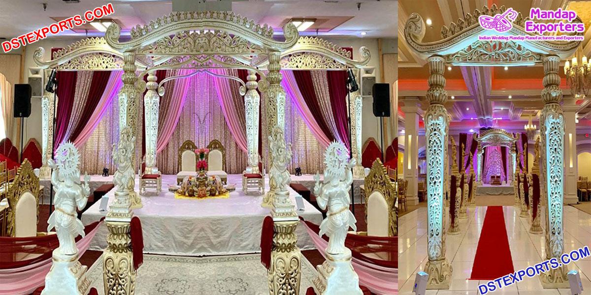 Traditional Srilankan Wedding Dhanush Mandap