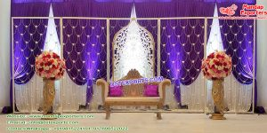 Wedding Stage Sparkling Candle Wall Decor