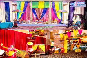 Best Mehndi Stage Decoration Props