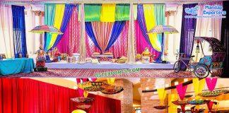 Best Mehndi Stage Decoration Props