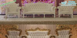 Best Wedding Furniture Set for Stage Decoration