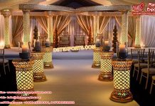 Crystal Butterfly Mandap for Hindu Wedding
