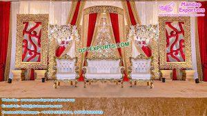 Designer Wedding Event Golden Frames London