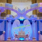 Elegant Wedding Crystal Butterfly Mandap