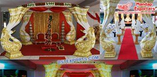 Eminent South Indian Wedding Peacock Mandap