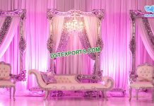 Eminent Wedding Stage Back Frames Panels