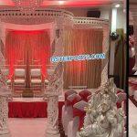 Exclusive Fiber Crystal Wedding Mandap Florida