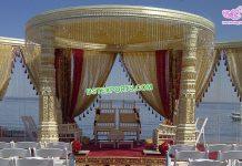 Exclusive Outdoor Wedding Dev Mandap Germany