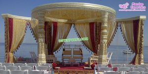 Exclusive Outdoor Wedding Dev Mandap Germany