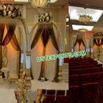 Gorgeous Wedding Tusk Mandap With Welcome Gate
