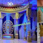 Grand Maharaja Wedding Fiber Crystal Mandap