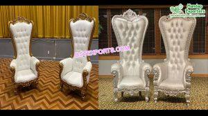 Latest Bollywood Wedding Throne Chairs