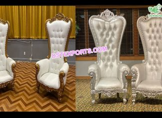 Latest Bollywood Wedding Throne Chairs