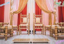 Latest Sankheda Chairs For Mandap Decoration