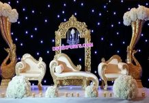 Marvelous Wedding Reception Stage Decoration
