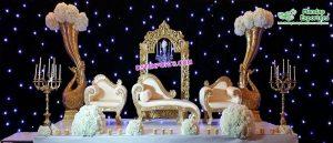 Marvelous Wedding Reception Stage Decoration