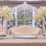 Modern Wedding Fiber Gate Frame Stage USA
