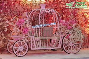 Princess Wedding Bride Entry Carriage Love Seat