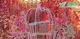 Princess Wedding Bride Entry Carriage/Love Seat