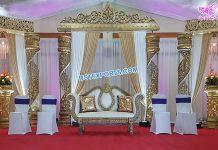 Prominent Wedding Fiber Crystal Stage Switzerland