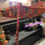 Punjabi Wedding Bridal Entrance Phulkari