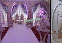 Royal Wedding Designer Tusk Pillar Mandap Fiji