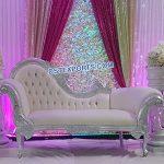 Royal Wedding Silver Carved Furniture Set