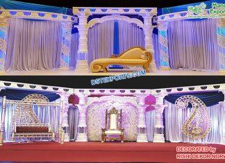 Stylish Asian Wedding Stage Decoration Norway