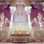 Stylish Moroccan Theme Wedding Stage