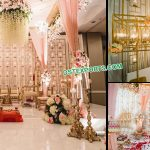 Stylish Wedding Candle Walls for Stage Decoration
