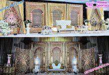 Stylish Wedding Rajwada Back Frames