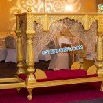 Stylish Wedding Rajwada Palki For Bride Entry