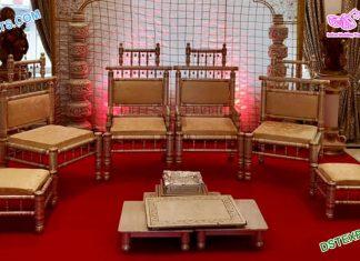 Traditional Wedding Mandap Sankheda Furniture