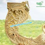 Wedding Golden Peacock Doli For Bridal Entry
