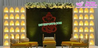 Wedding Stage Jhrokha Candle Walls