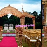 Wedding Wooden Handicraft Temple Mandap