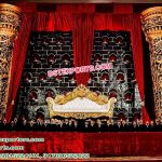 Asian Wedding Stage Fiber Candle Walls