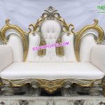 Beautiful Wedding Stage Crown Sofa London