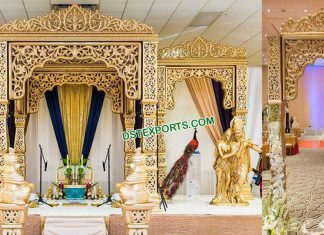 Bollywood Radha Krishna Wedding Mandap UK