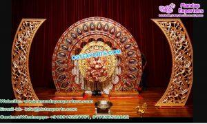 Hindu Wedding Stage Backdrop Panels UK