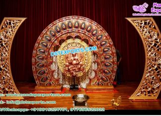Hindu Wedding Stage Backdrop Panels UK
